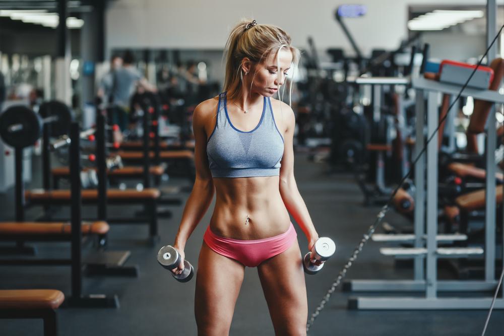 ПРОГРАММА ТРЕНИРОВОК В ЗАЛЕ ДЛЯ ДЕВУШЕК - комплекс эффективных упражнения для женщин